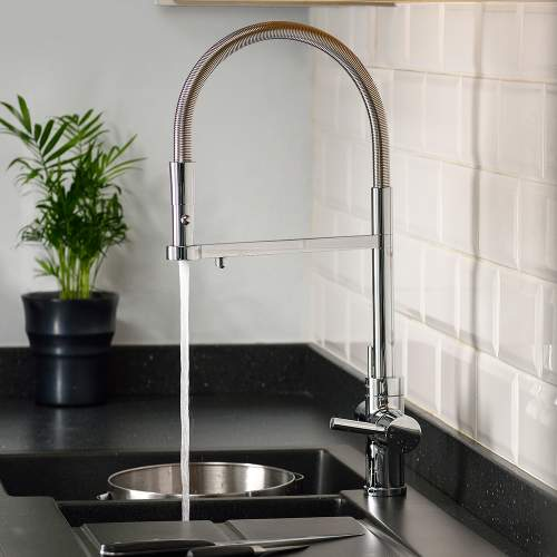 Abode PRONTEAU Professional 3 in 1 Pull Out Hose Kitchen Tap Specifications
