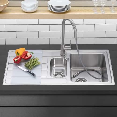 Caple VERTICE 150 Inset Stainless Steel Kitchen Sink