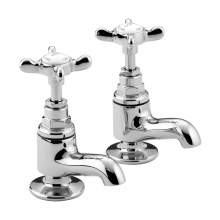 Bristan 1901 Traditional Bathroom Vanity Basin Taps N VAN C CD - Chrome