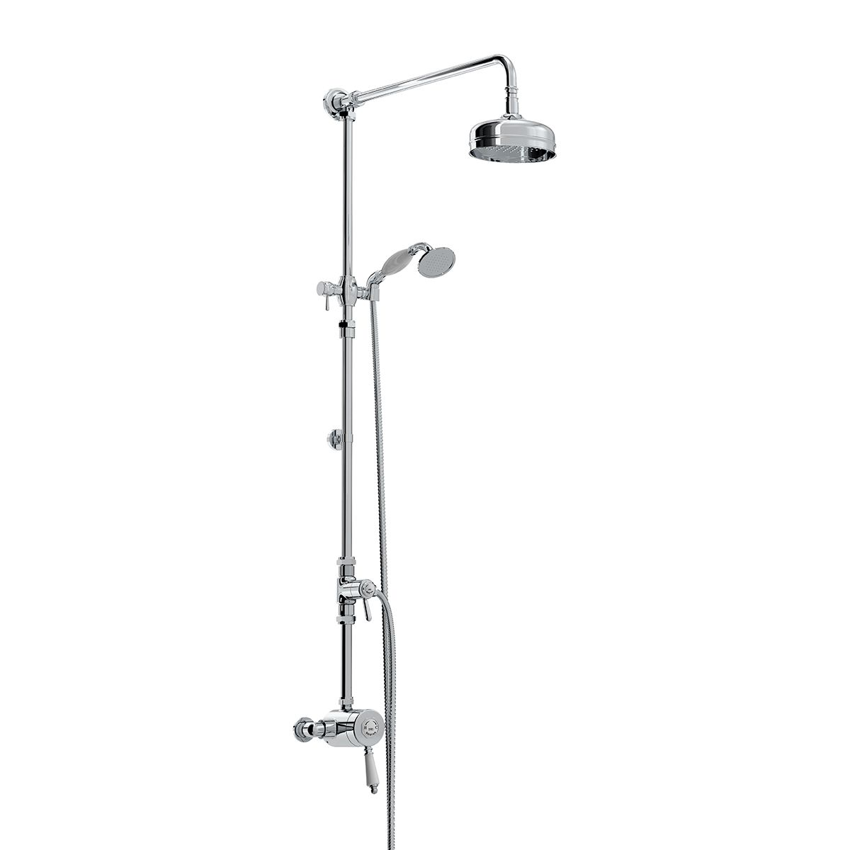 Bristan 1901 Single Control Thermostatic Exposed Shower Valve Kit ...