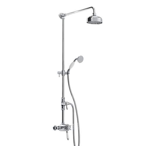Bristan 1901 Dual Control Thermostatic Exposed Shower Valve Kit