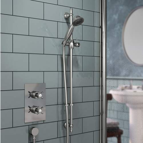 Bristan 1901 Thermostatic Recessed Single Outlet Shower Valve
