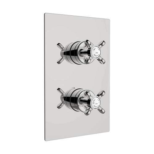 Bristan 1901 Thermostatic Dual Outlet Shower Valve - N2 SHCDIV C