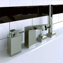 Bristan Alp Collection of bathroom bath and basin taps