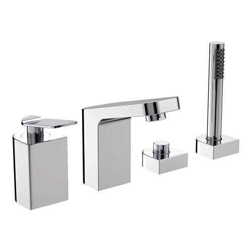 Bristan Alp Four Hole Bath Shower Mixer