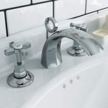 Bristan Art Deco Bathroom Basin and Bath Taps