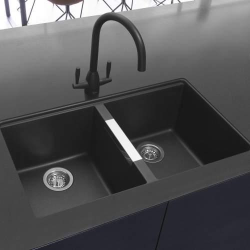 Caple AVEL Twin Lever Kitchen tap