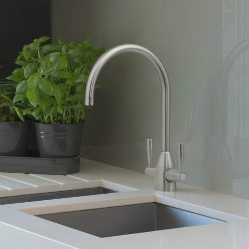 Caple AVEL Twin Lever Kitchen tap