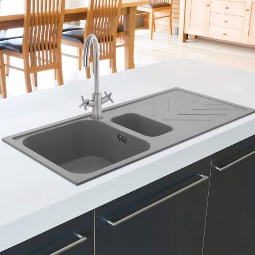 Caple KONTRO Dual Crosshead Lever Kitchen Tap