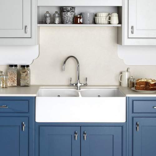 Caple Leval Dual Lever Monobloc Kitchen Tap