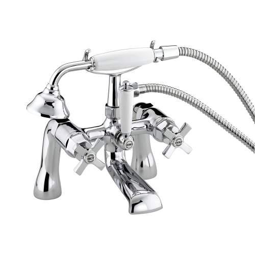 Bristan Art Deco Bath Shower Mixer - DBSMCCD