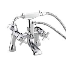 Bristan Art Deco Bath Shower Mixer - DBSMCCD