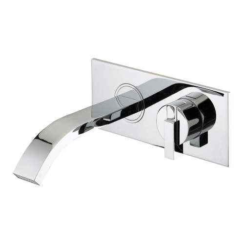 Bristan Chill Wall Mounted Bath Filler - CLWMBFC