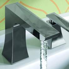 Bristan Ebony collection of bathroom bath and basin taps