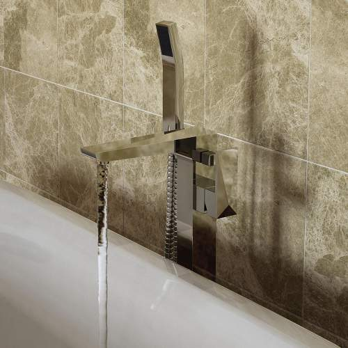 Bristan Ebony Free Standing Bath Shower Mixer - EBYFSBSMC