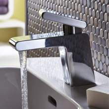 Bristan Pivot range of bathroom bath and basin taps