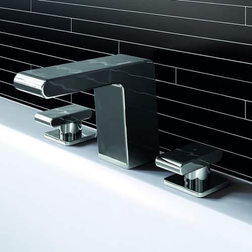 Bristan Pivot Three Hole Bath Filler - PIV 3HBF C