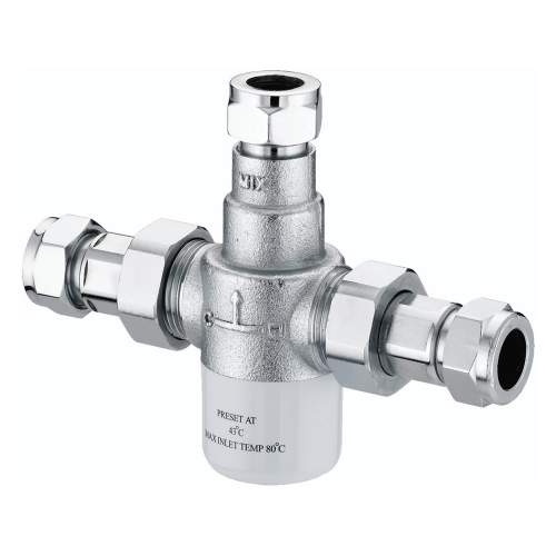 Bristan 15mm Thermostatic Mixing Valve - MT503CP