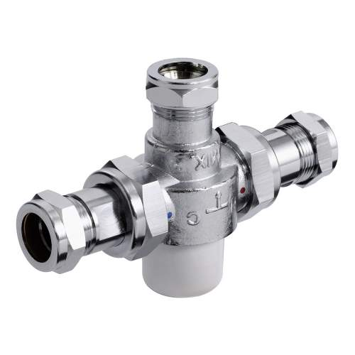 Bristan 22mm TMV3 Thermostatic Mixing Valve - MT753CP
