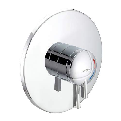 Bristan STRATUS Thermostatic Dual Control Concealed Shower Valve with Chrome Levers - STR TS1875 CDC C
