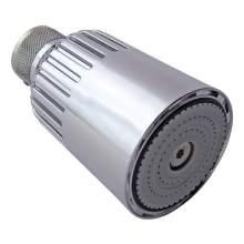 Bristan Swivel Shower Head with Vandal Resistant Screw Fixing - 980505CPVR