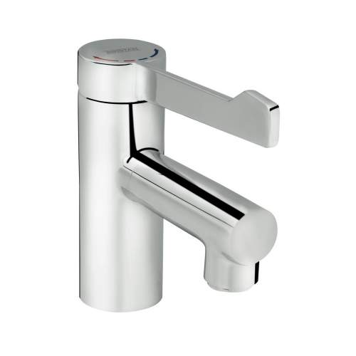 Bristan Non-Thermostatic Healthcare Basin Tap with Long Lever Handle - SOLO-NM LL