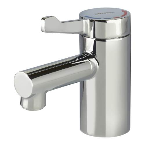 Bristan TMV3 Mono Basin Mixer with Short Lever Handle (no waste) - SOLO2-T3SL