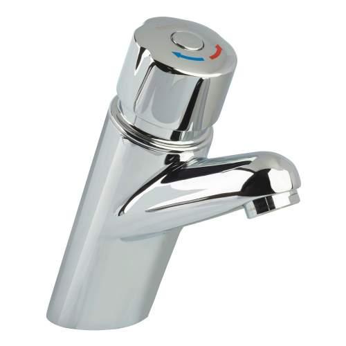 Bristan Timed Flow Temperature Control Basin Mixer - Z TC 1/2 C