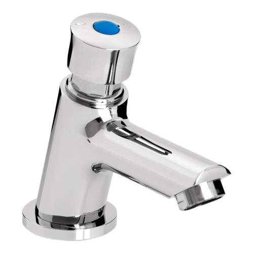 Bristan Single Luxury Soft Touch Timed Flow Tap with Flow Regulator - Z2 LUX 1/2 C
