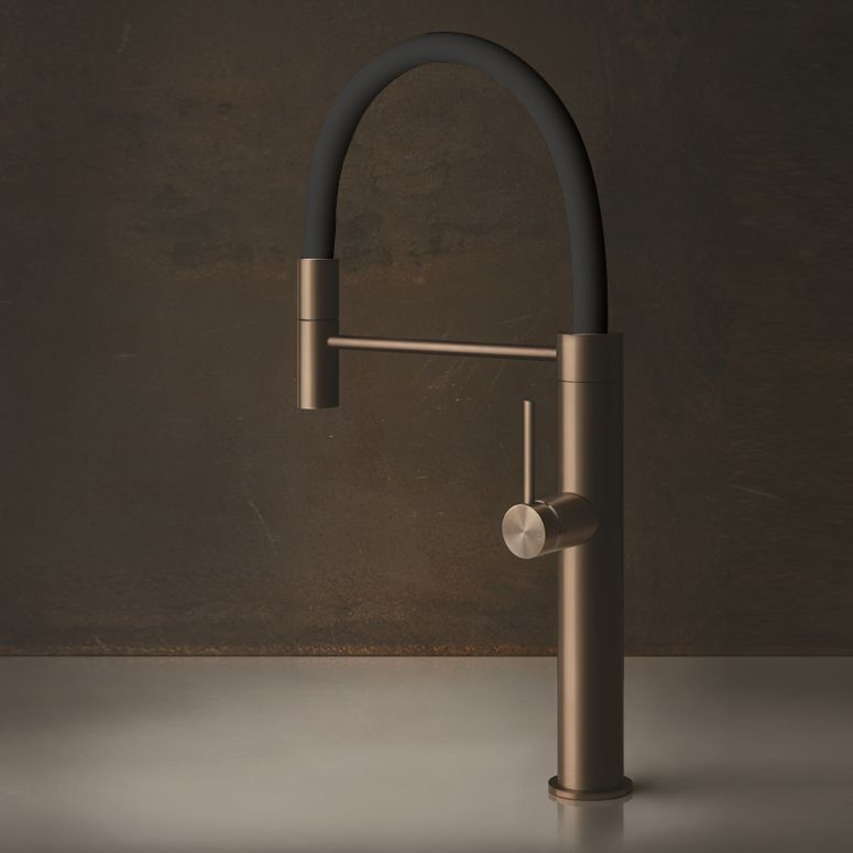 Gessi 316 Kitchen Flessa Semi Professional Single Lever