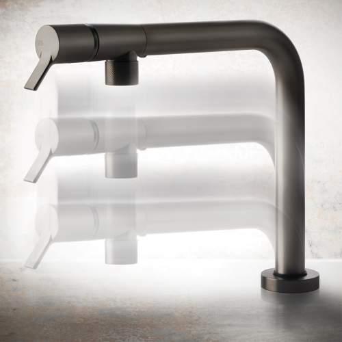 Gessi Su & Gui Sink Mixer with Retractible Spout