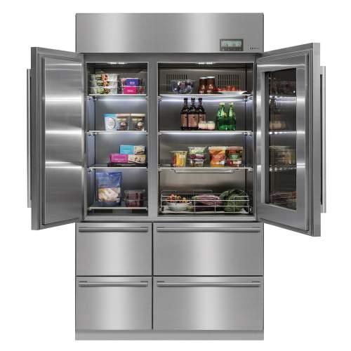Caple CAFF60 Six Compartment Professional Fridge Freezer