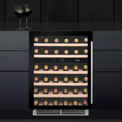 Caple WI6134 Sense Undercounter Dual Zone Wine Cabinet