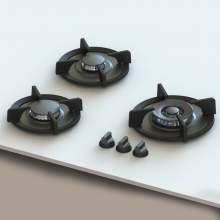 CAPITALXL PITT® by Reginox - 3 PITT Individual Gas Hobs