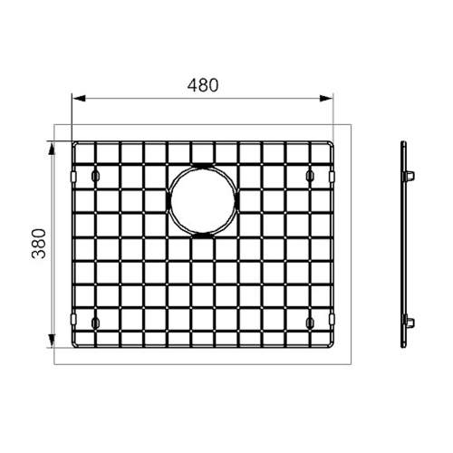 Reginox Miami 50x40 Sink Grid