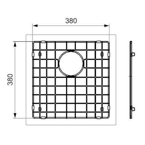 Reginox Miami 40x40 Sink Grid