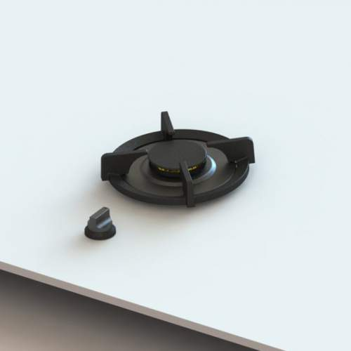 ALTAR PITT® by Reginox - 1 PITT Individual Medium Gas Hob