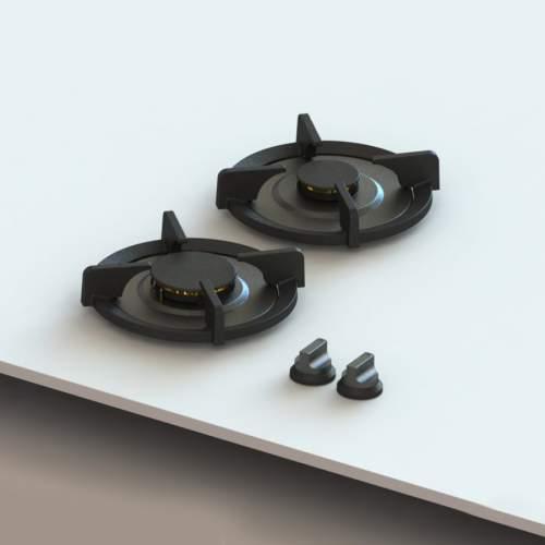 BALUT Professional PITT® by Reginox - 2 PITT  Individual Gas Hobs