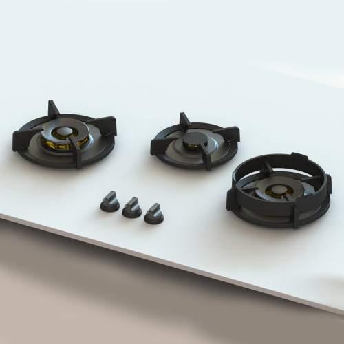 COLO PITT® by Reginox - 3 PITT Individual Gas Hobs