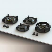 DEMPO Professional PITT® by Reginox - 4 PITT Individual Gas Hobs