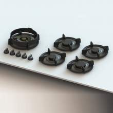 ENEP Professional PITT® by Reginox - 5 PITT Individual Burner Gas Hobs