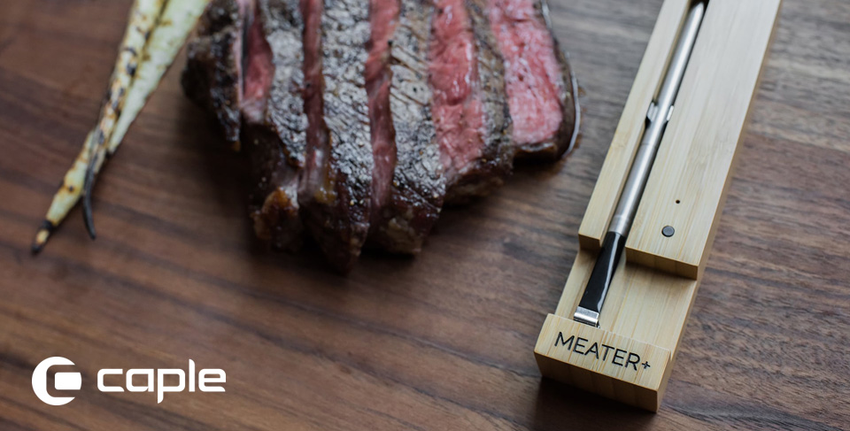 FREE MEATER+ smart thermometer with selected Caple ovens