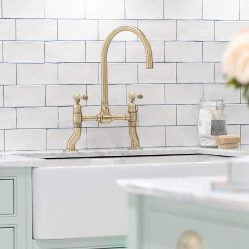 Caple Putney Bridge Deck Mount Kitchen Tap