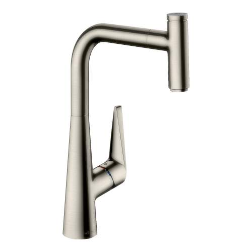 Hansgrohe Talis Select S Single Lever Mixer 300 with Pull-out Spout
