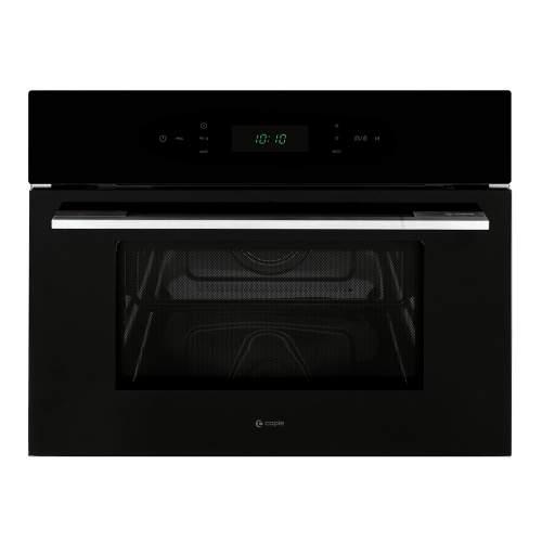 Caple CM108S Classic Black Built-In Microwave