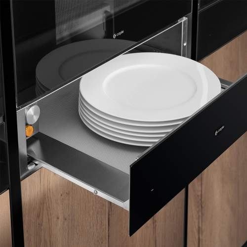 Caple WD140CLBK Classic Warming Drawer