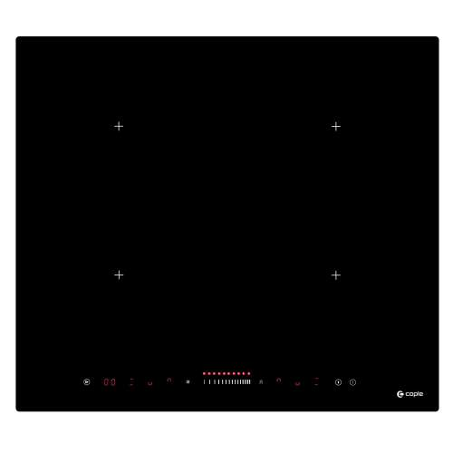 Caple C857i Black Glass Induction Hob