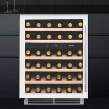 Caple WI6134WH Sense Undercounter Dual Zone Wine Cabinet