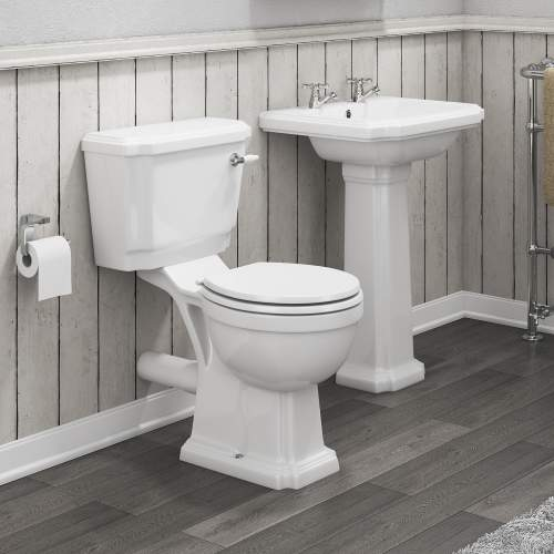 Cromford Traditional Basin and WC Pack 1