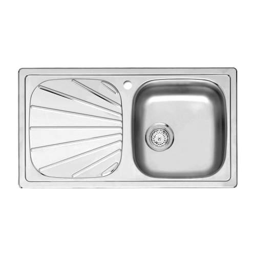 Reginox BETA 10 (R) Single Bowl Kitchen Sink with Drainer